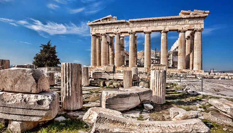 Афины и Акрополь (Малые Афины), Афины