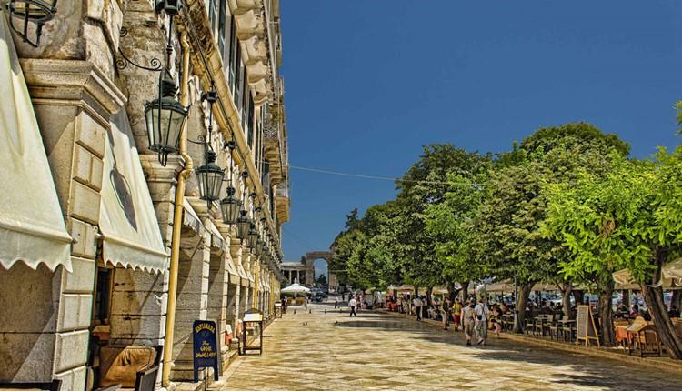 Город Корфу, Корфу