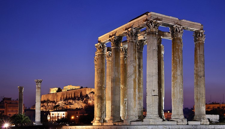 По стопам древних греков, Афины